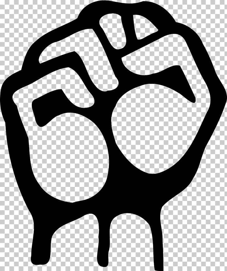 Raised fist , closed fist PNG clipart.