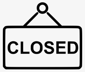 Closed Sign PNG, Transparent Closed Sign PNG Image Free Download.