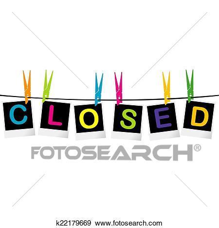 Closed sign clipart 5 » Clipart Portal.