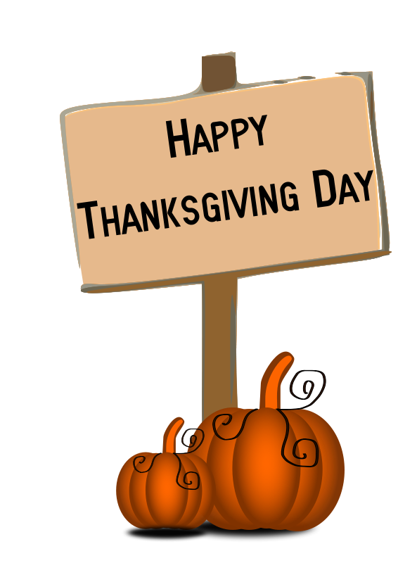 happy thanksgiving clip art.