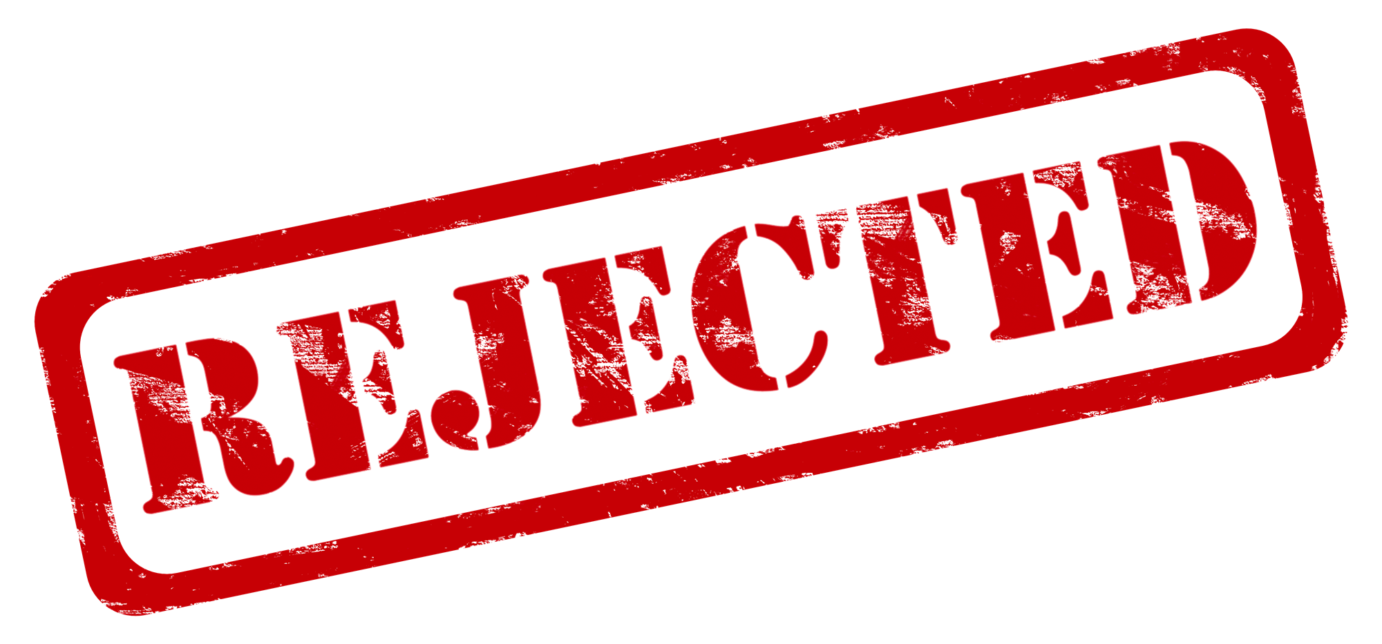 Download Rejected Stamp PNG.