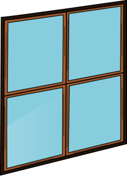 Closed Window Clipart.