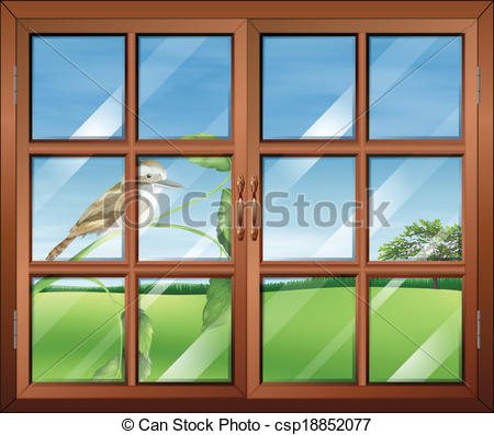 Outside window Clipart and Stock Illustrations. 2,183 Outside.