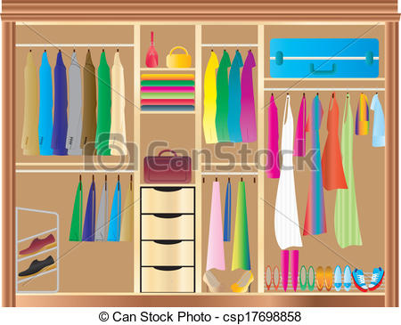 Closet Illustrations And Clipart 7841 Royalty Free