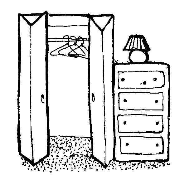 Closet Clipart.