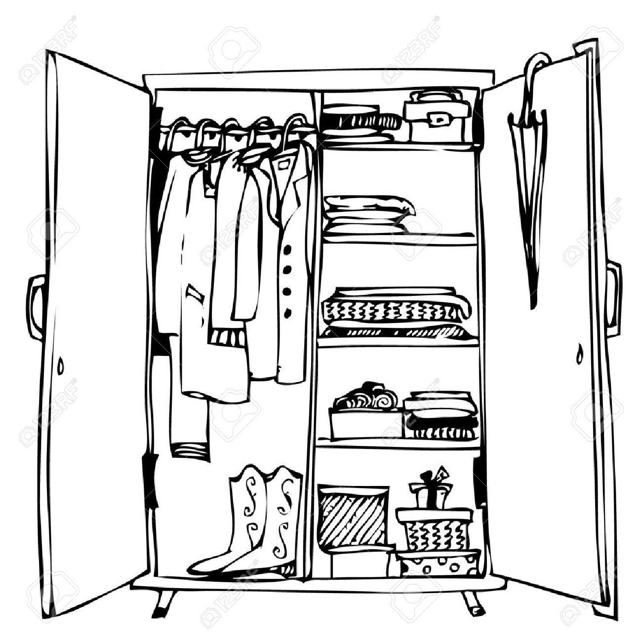 Closet Clip Art.