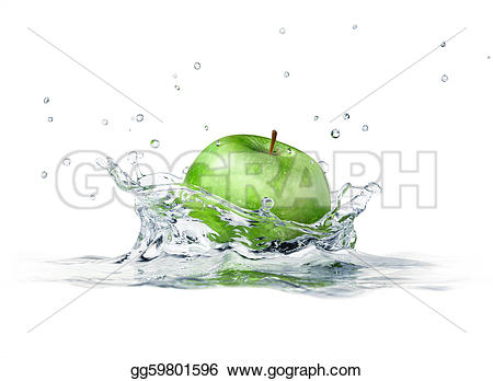 Close-up water clipart #17