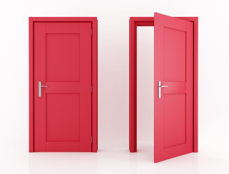 Clipart Closed Door.