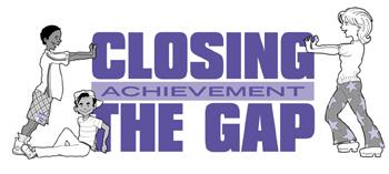 Closing the gap clipart.