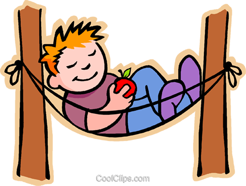 Resting clipart.