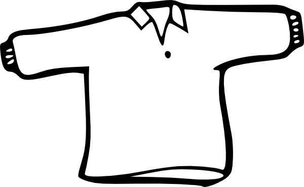 White cloth clipart.