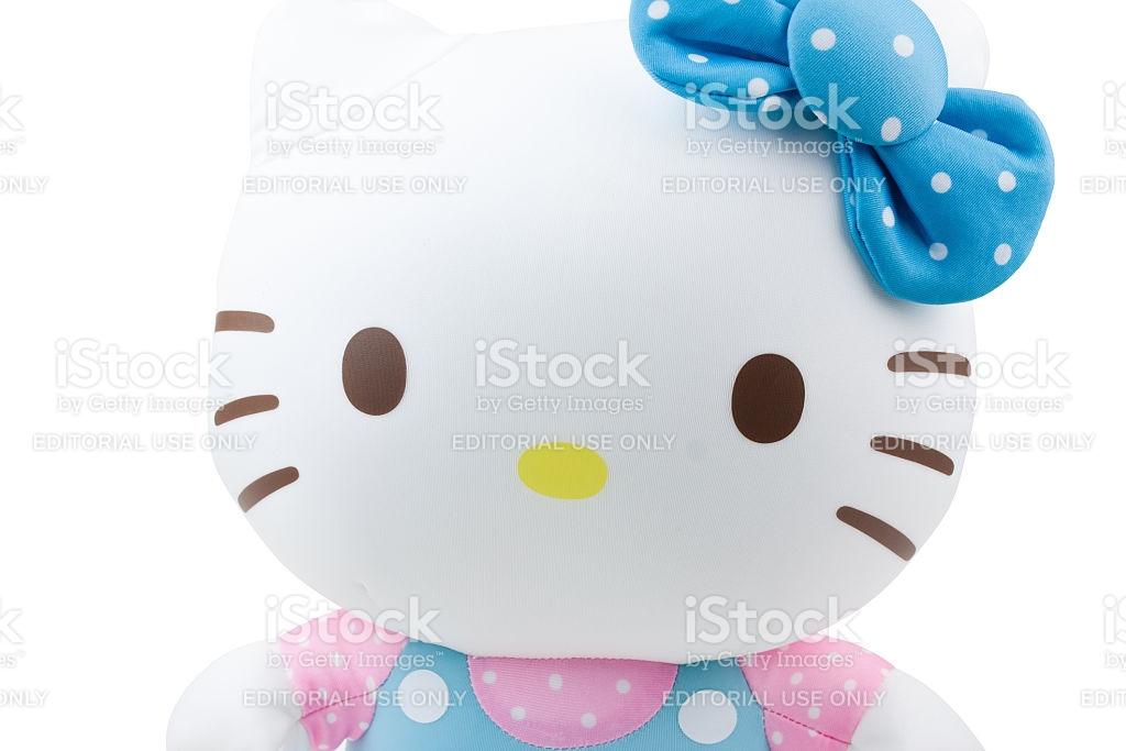 Children Cloth Toyhello Kitty Figure stock photo 482344156.