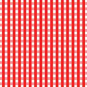 Picnic table cloth clipart.