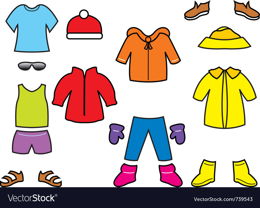 Cartoon Pictures Of Clothes Free Download Clip Art.