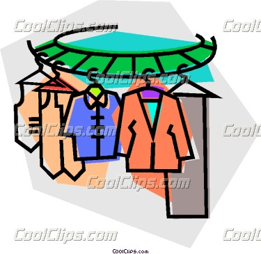 Clip Art Indoor Clothes Drying Rack.