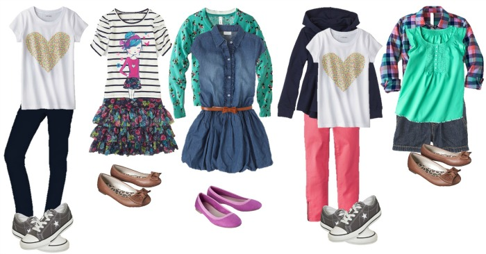 School Clothes for Girls.