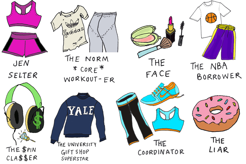 What Your Gym Clothes Say About You.