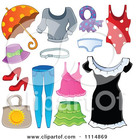 Royalty Free Stock Illustrations of Clothes by visekart Page 1.
