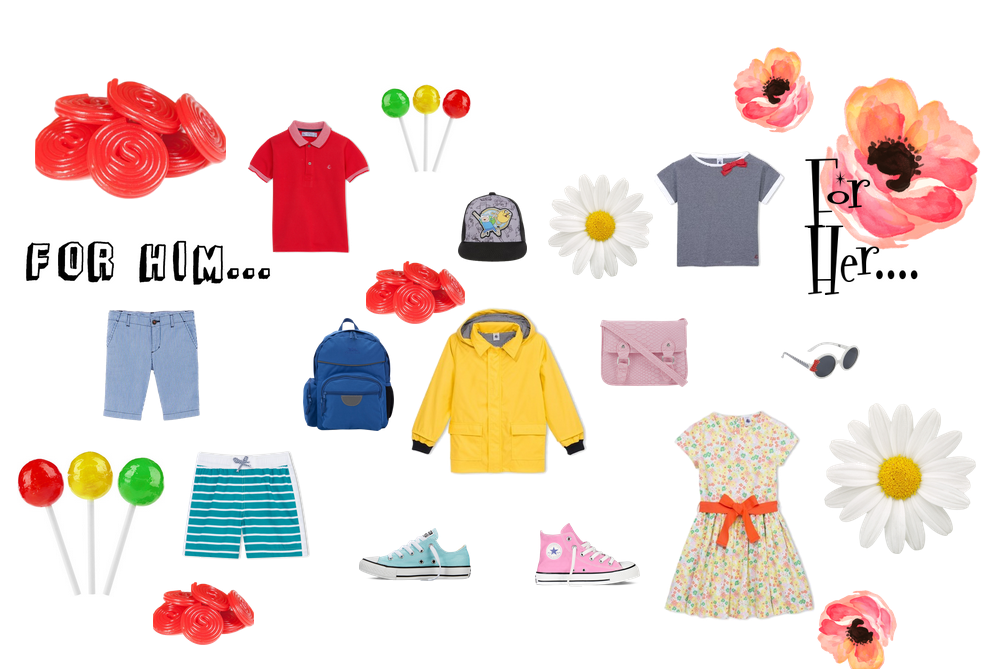 Practical Sunny Weather Clothing Ideas for Kids.