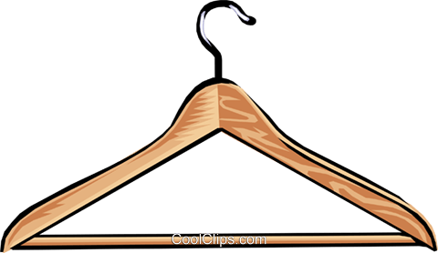 Clothes hanger clip art.
