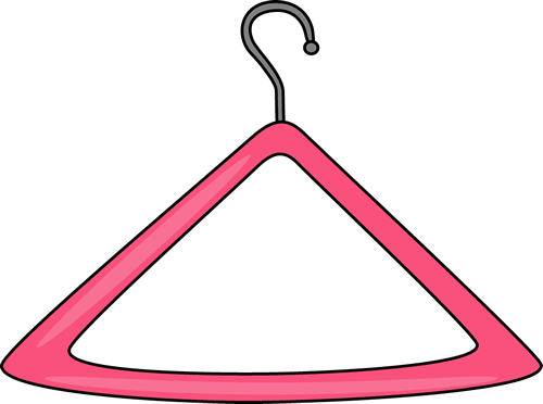 Clothes hanger clipart transparent background.