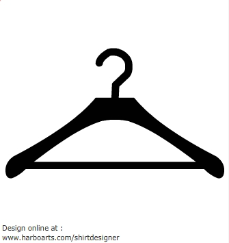 Clipart clothes hanger.