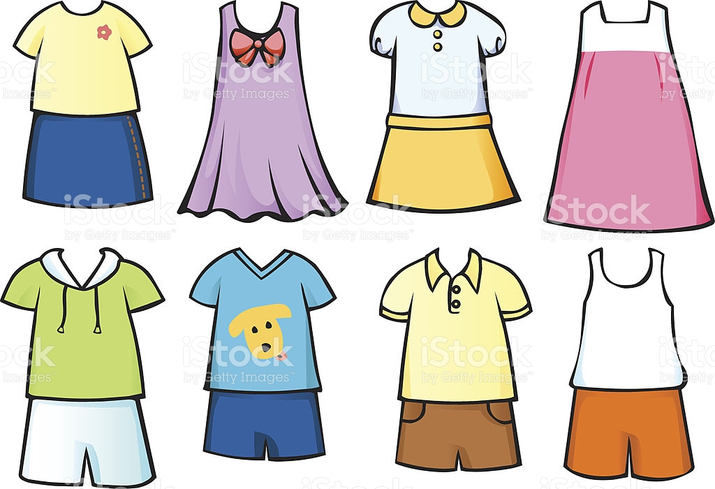 Clothes Clipart Kids.