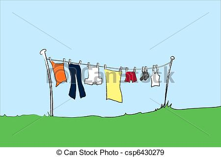 Clothesline Illustrations and Clipart. 1,343 Clothesline royalty.