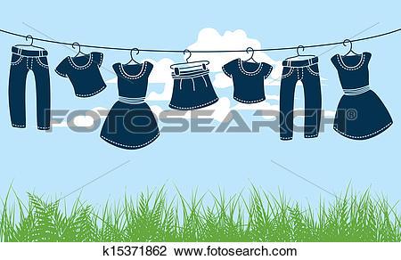 Clothes line Clip Art Illustrations. 14,801 clothes line clipart.