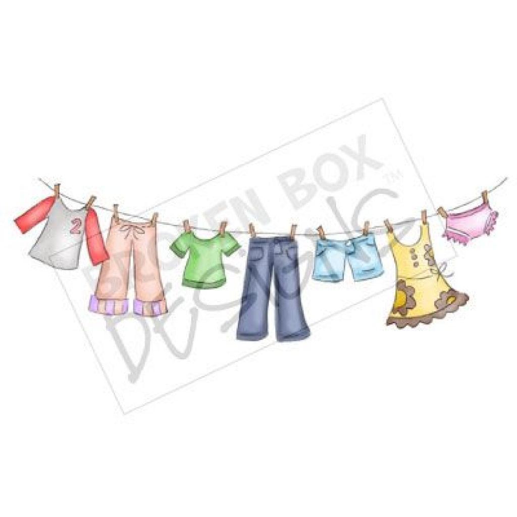 clothes line clip art throughout clothing line clipart clothing.
