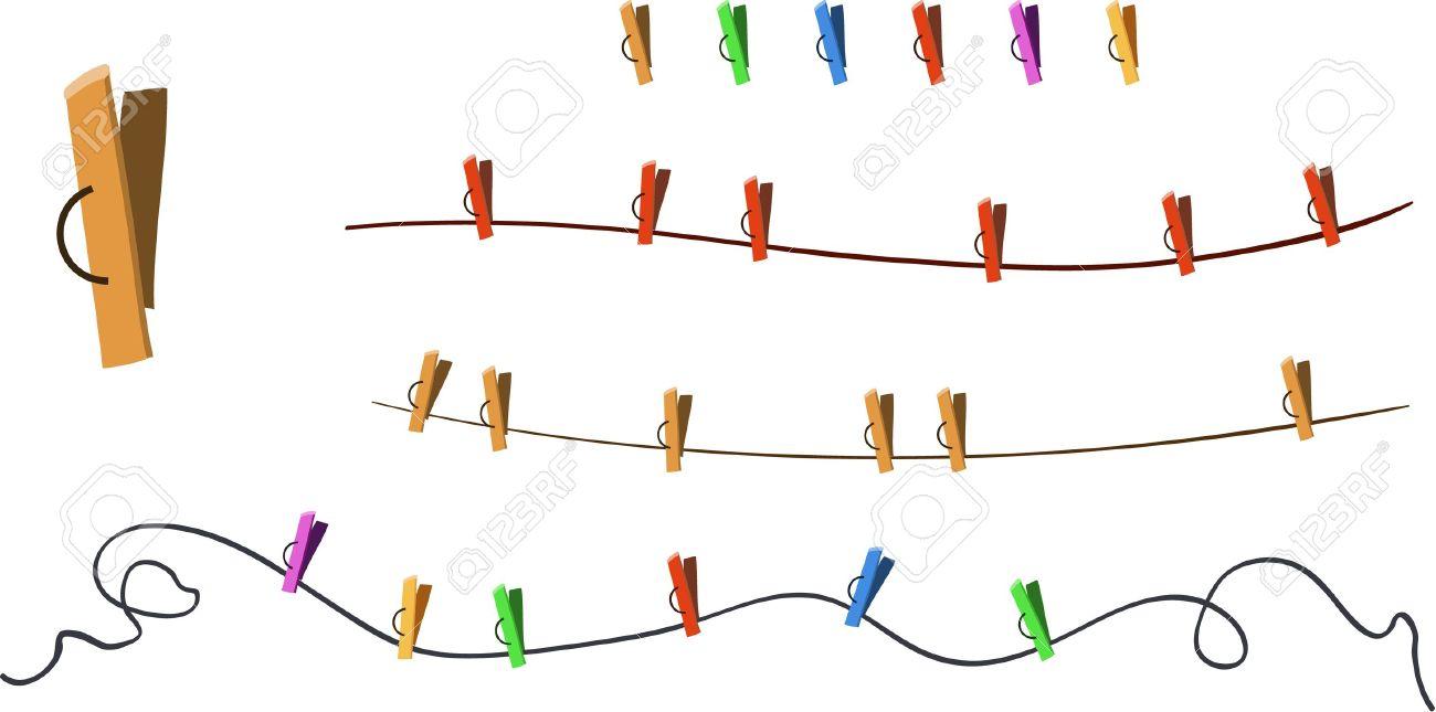 Clothes Line Clip Art ~ Clothes peg clipart clipground