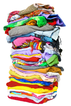 Clothing Pile Clipart.