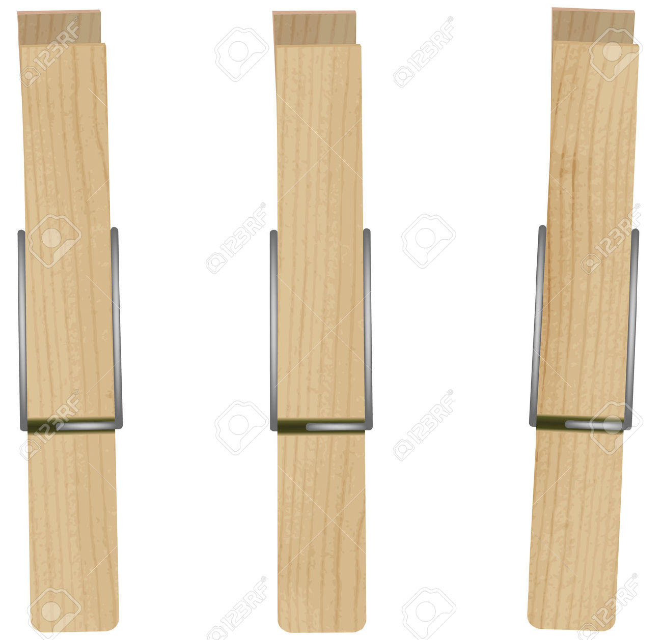 Wooden Pegs Clipart Clipground