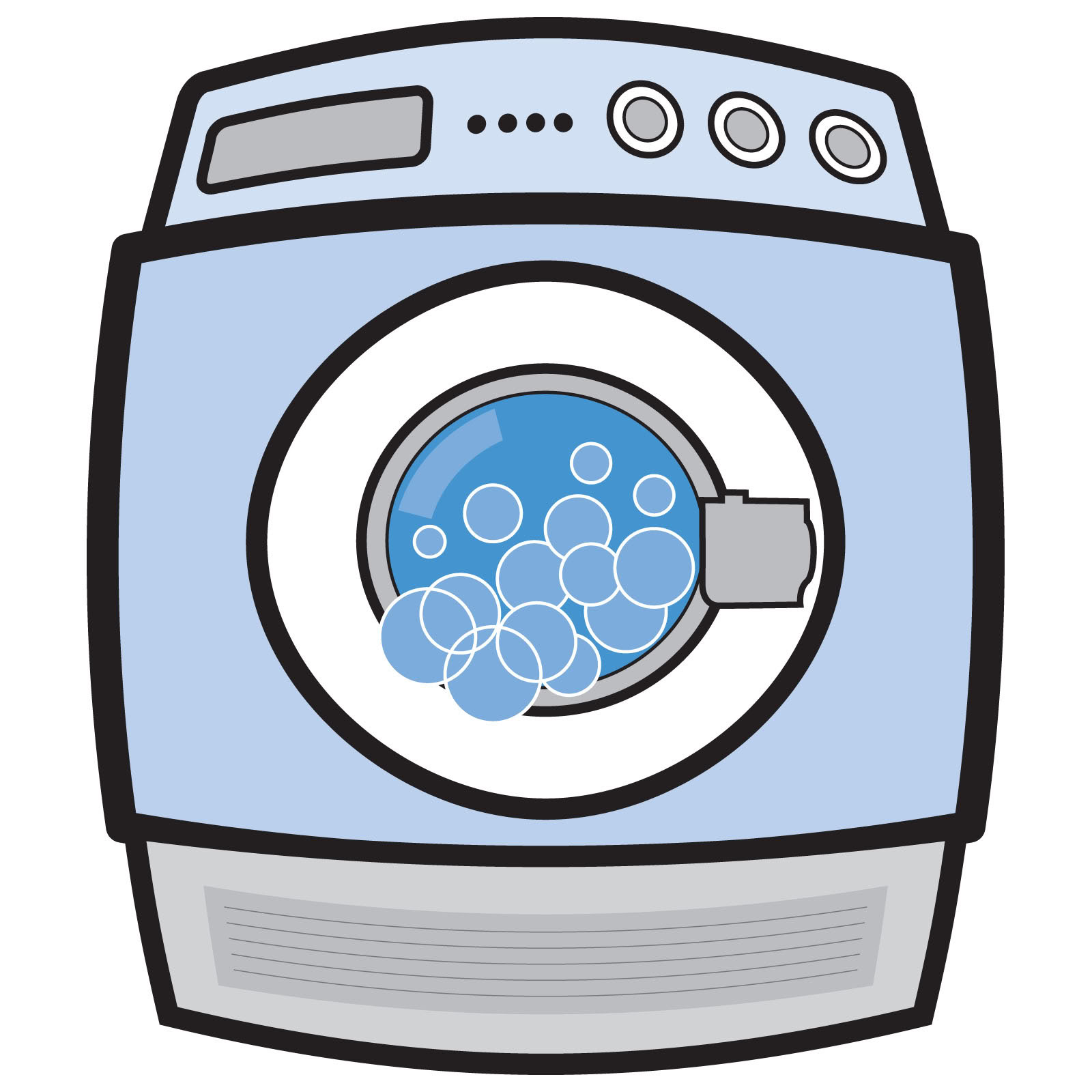 Clothes Dryer Clip Art ~ Washer clipart clipground