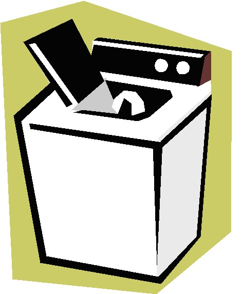 Clip Art Washing Machine Clipart.