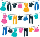 Clothes line Clip Art Illustrations. 14,801 clothes line clipart.