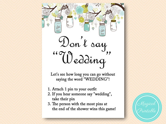 Clothespin Wedding Game Clipart.