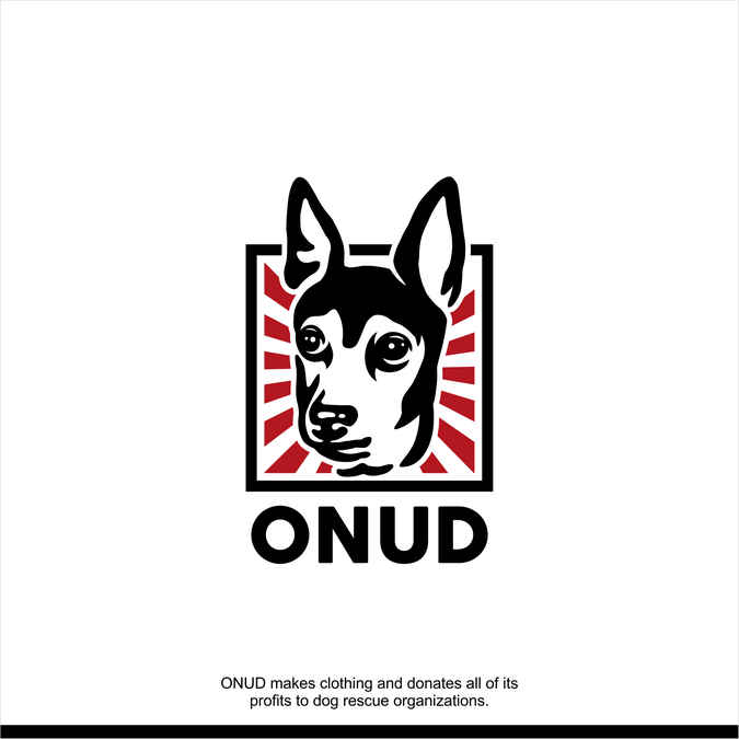 SAVE DOGS by designing a stencil logo for clothing brand.