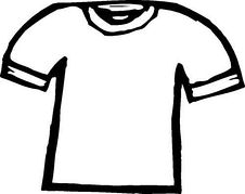Clothes Clip Art Black And White.