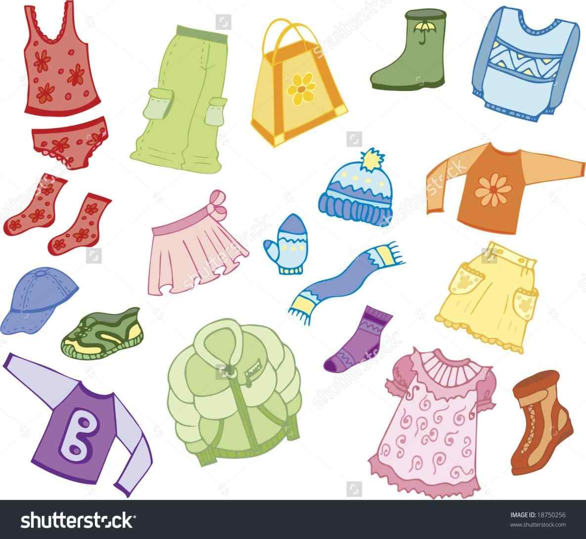 Kids clothes clipart 6 » Clipart Station.