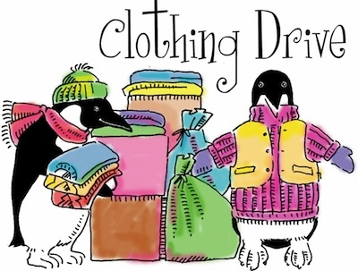 Clothing Drive Clipart.