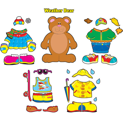 dress up bear printable.