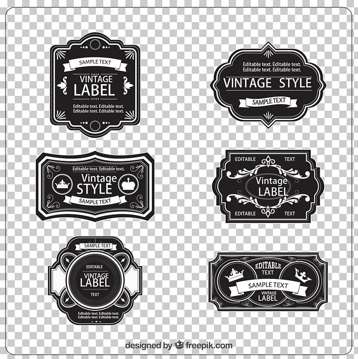 Vintage clothing Label Etiquette, label,Retro label,style.