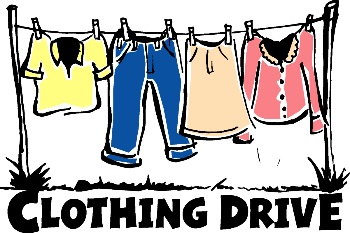 NMTS Clothing Drive.