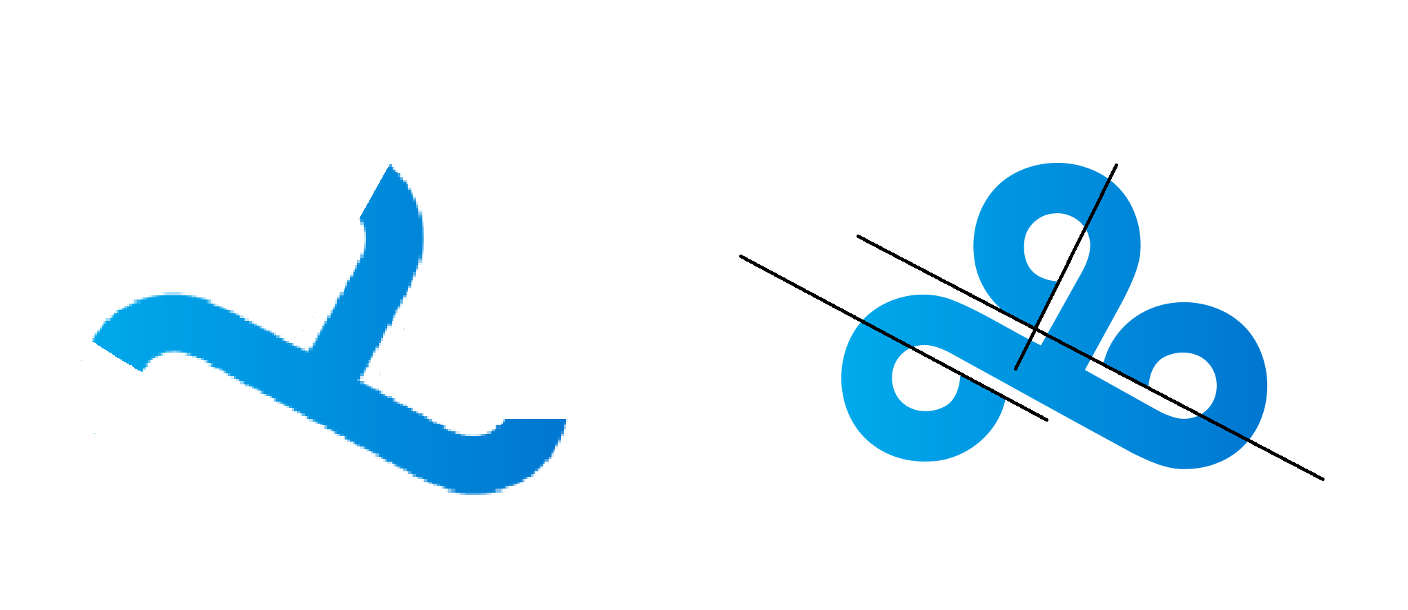 Cloud9 should really fix their logo. As a designer, this.