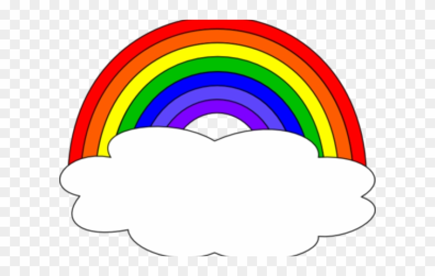 Cloud Clipart Rainbow.