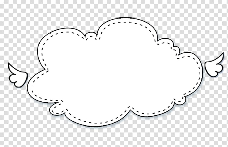 White cloud illustration, Speech balloon Bubble, Cartoon clouds.