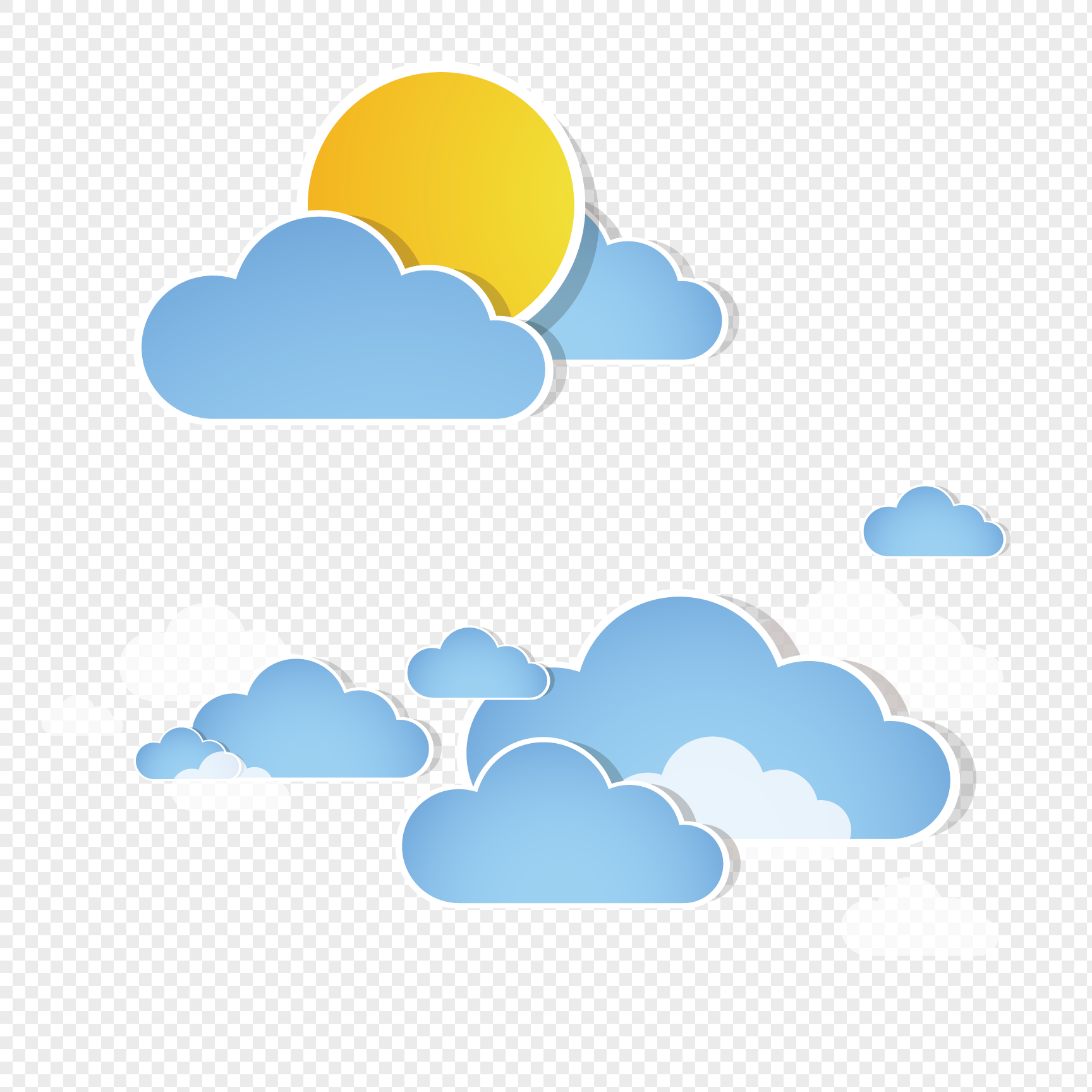 Cartoon Cloud Png 8.
