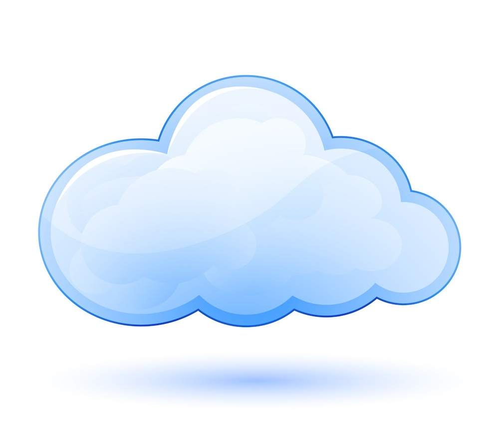 Cloud clipart for kids.