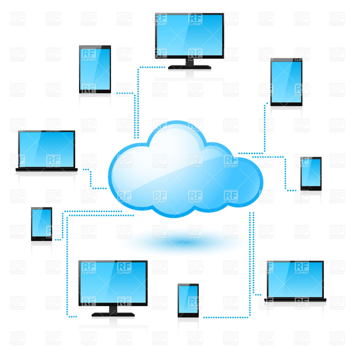 Cloud computing clipart 20 free Cliparts | Download images on